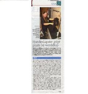 Gazet Van Antwerpen - 18 Mei 2004
